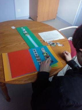 Faire son emploi du temps en pictogrammes pour Romuald, 26 ans ( troubles psychiatriques)